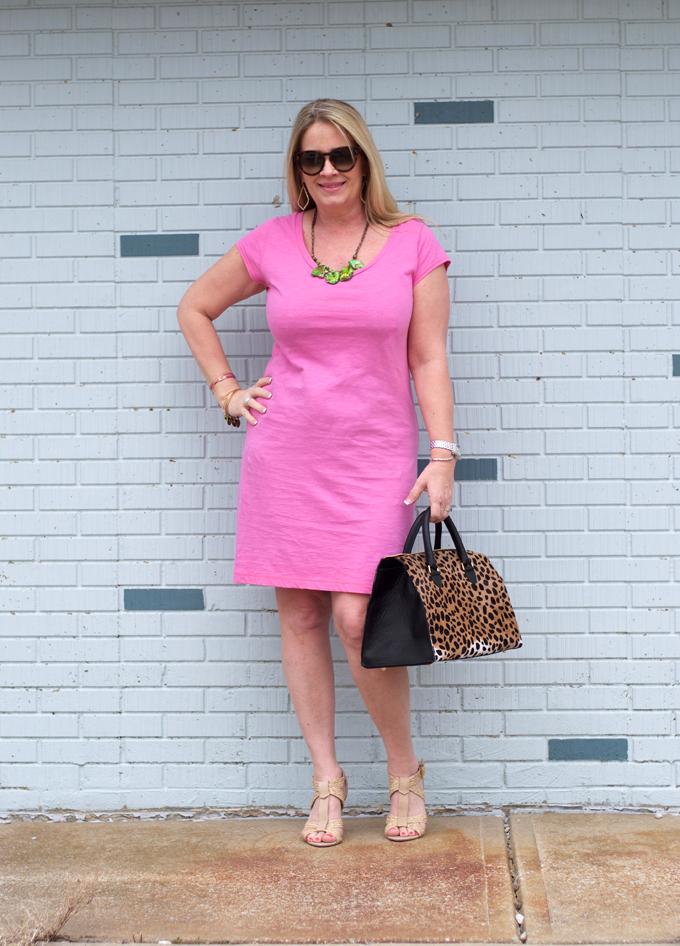 pink-tee-dress