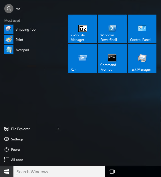 Windows 10 part #3 - roaming the Windows 10 Start tile