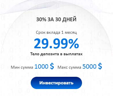 Инвестиционные планы FutureRich LTD 4