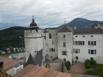 Battlements of Hohen salzburg