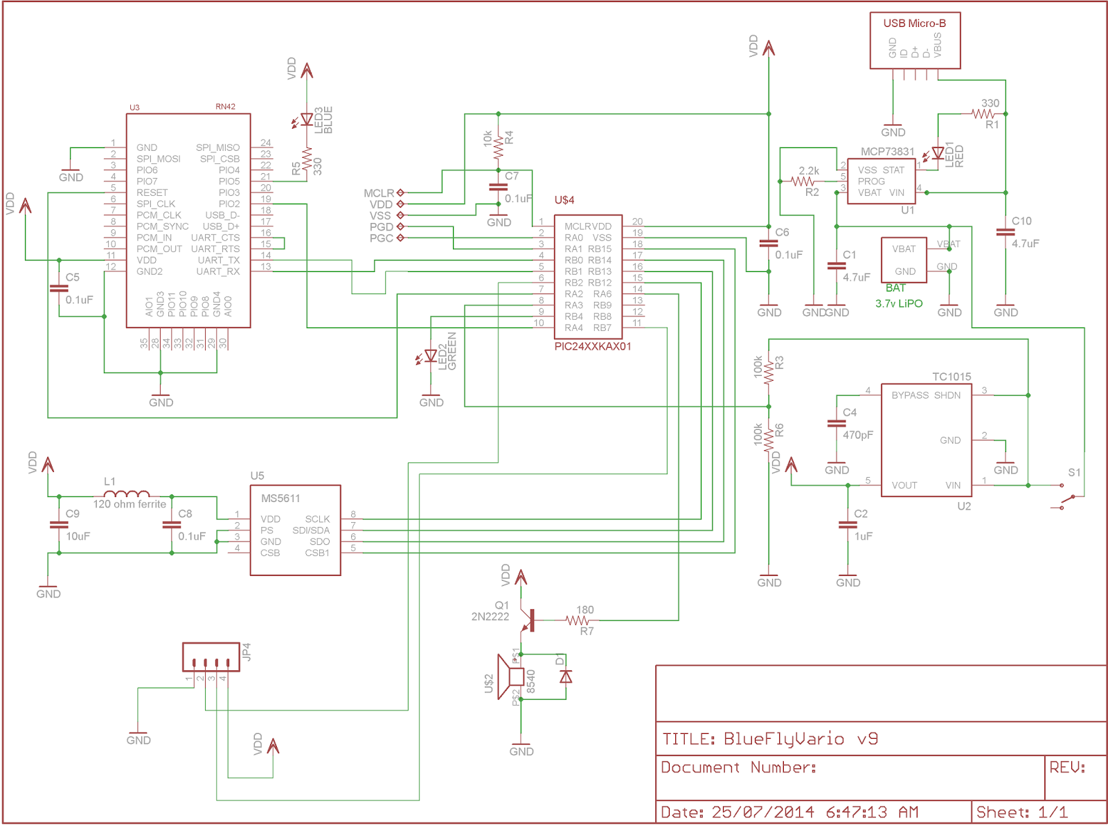 the circuit diagram and pcb layout for this release are shown below  [ 1600 x 1193 Pixel ]