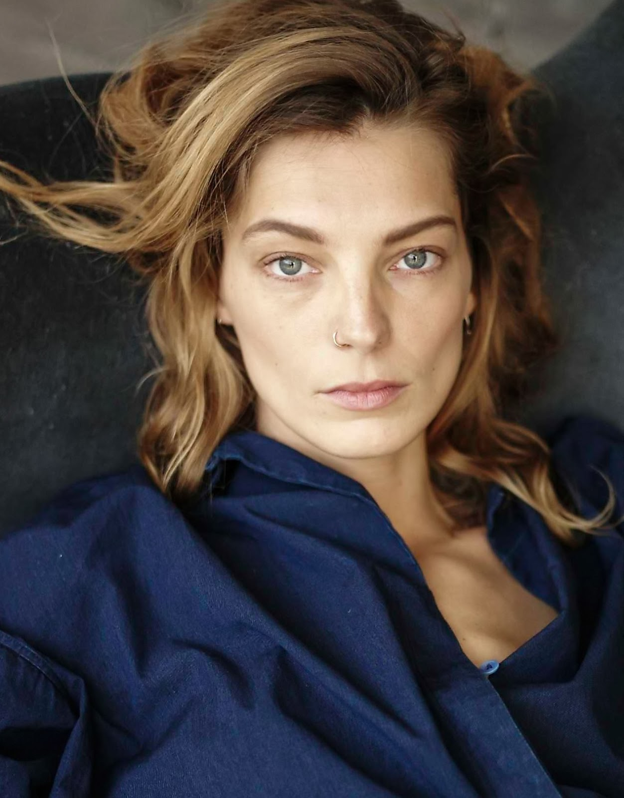 Daria Werbowy Shines On Fashion Canada S October 2013: Daria Werbowy By Mathieu Cesar For Marie Claire Russia May