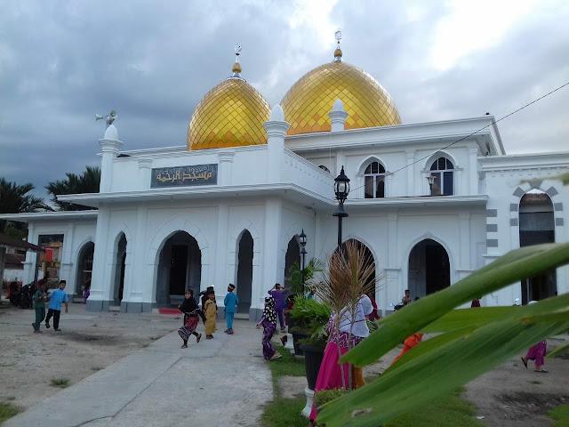 Masjid Kubah Emas di Riau, Keindahan Hasil dari Qoobah