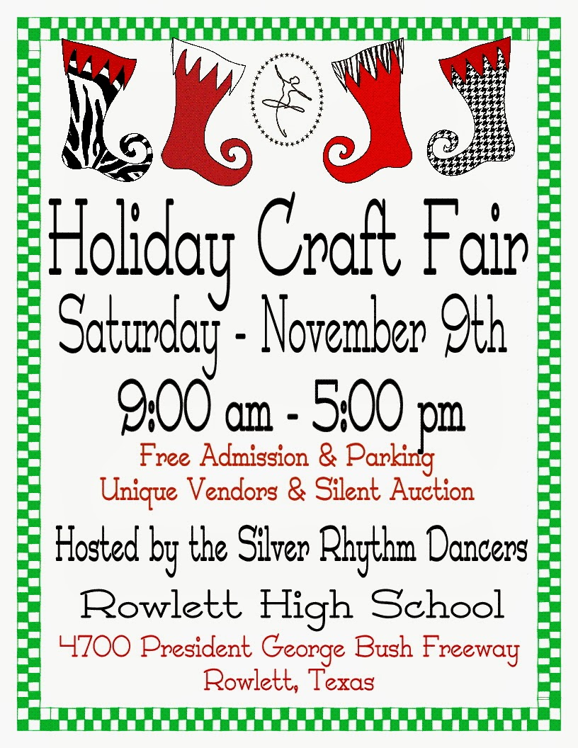 Fall Craft Vendor Show Flyer Template