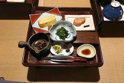 宝巌堂の朝食その1