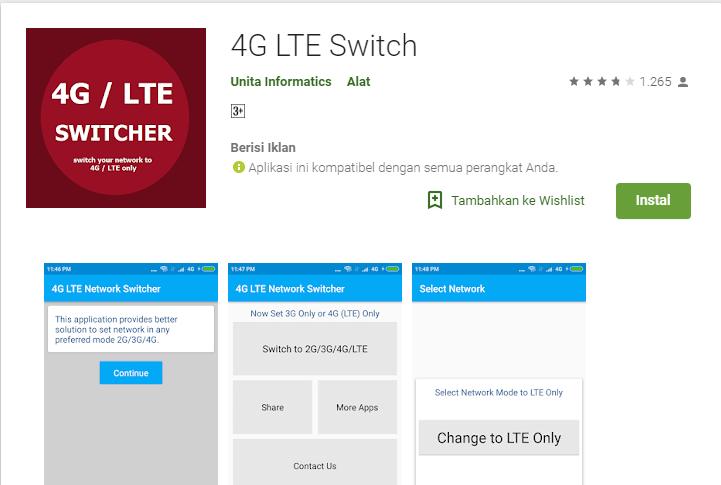 Cara Membuat Mode Jaringan 4g Only Atau Lte Only Disemua Android