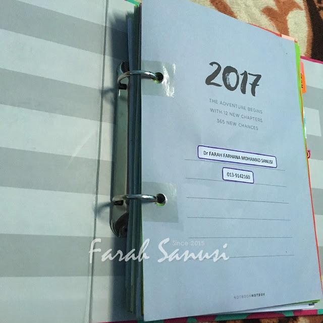 Planner 2018 Dari notbooknotbuk.com Dah Sampai!!