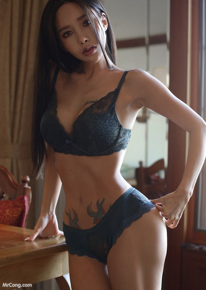 Image Korean-Model-Hwang-Barbie-MrCong.com-014 in post Người đẹp Hwang Barbie trong bộ ảnh nội y, bikini tháng 10/2017 (238 ảnh)