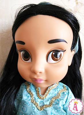 Принцесса Жасмин из диснеевского мультика Аладдин