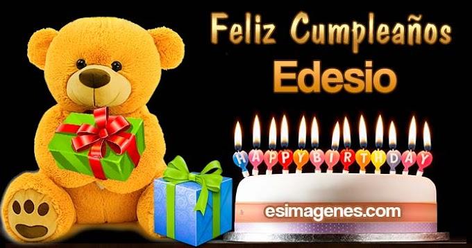 Feliz cumpleaños Edesio