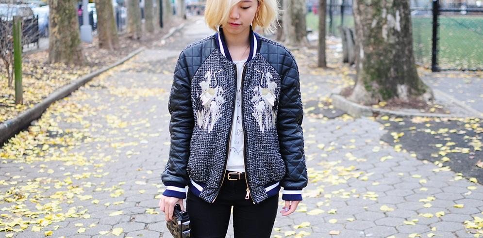 Model Jaket Untuk Wanita Buncit Pilih Yang Tidak Menggelembung