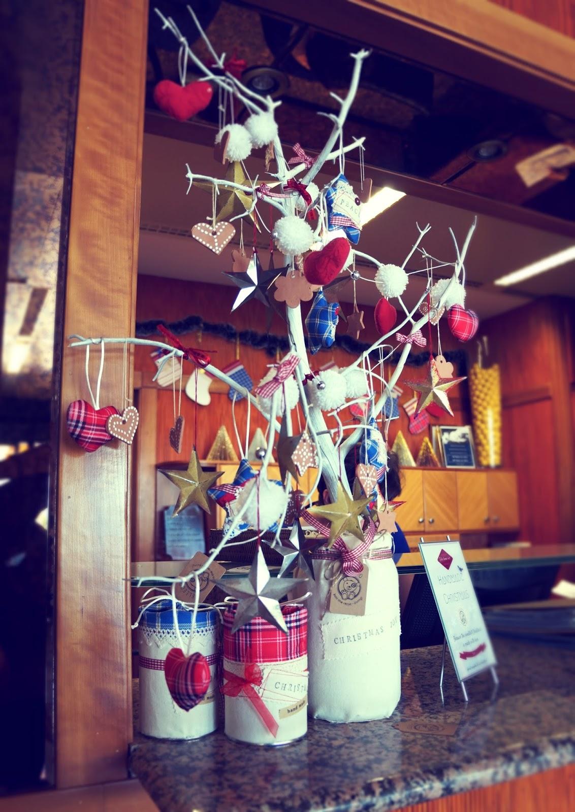 Lelleco Navidad: árbol de Navidad alternativo hecho a mano