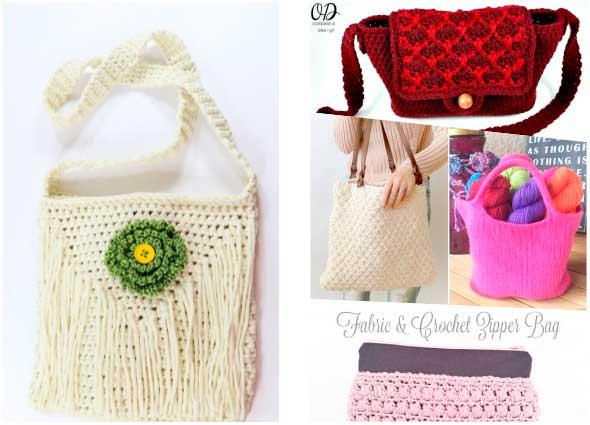 bolsos, bolsas, complementos, diys, costura, tricot, crochet