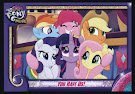 My Little Pony You Have Us! MLP the Movie Trading Card