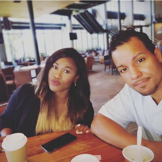 Uche-Jombo-and-husband-Kenney-Rodriguez-2017