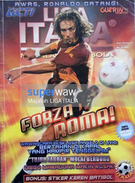 Majalah Liga Italia Forza Roma