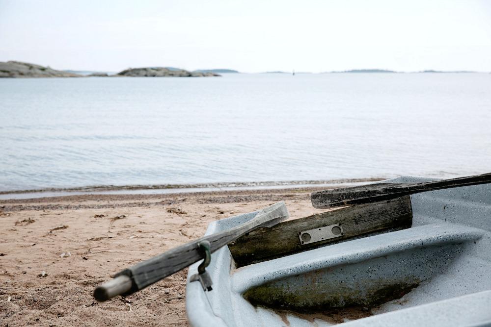 Hanko, ranta, vesi, meri, kesä, vene