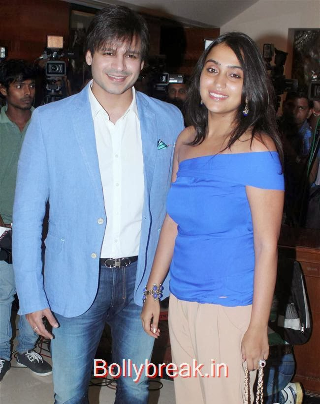Vivek Oberoi and Priyanka, Bollywood Babes at Grand Masti Success Party, Bollywood Babes at Grand Masti Success Party