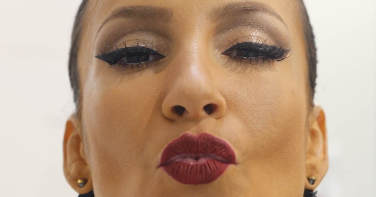 Maquiagem Claudia Leitte