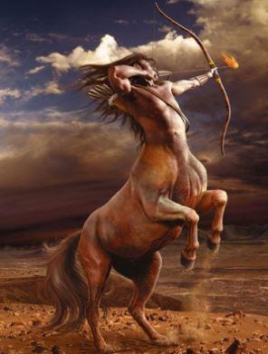 Centauro con un arco