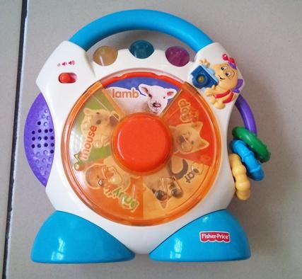Nurul Azham S Shoppe Fisher Price Nursery Rhymes Cd Player