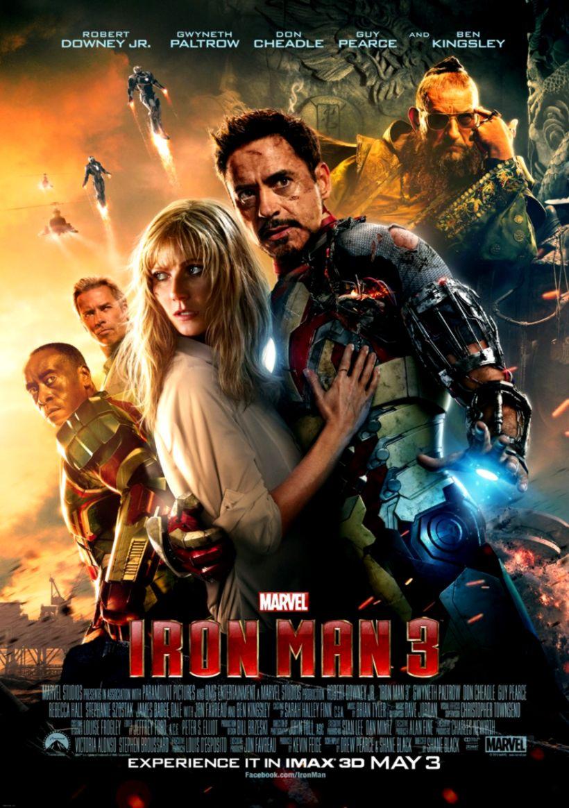 Iron Man 3 James Rhodes As Iron Patriot Hd Wallpaper