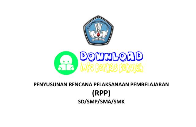 Download Panduan Penyusuan RPP Kurikulum 2013