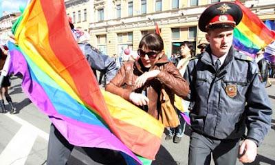 """Marchas del """"orgullo gay"""" están prohibidos en Rusia."""