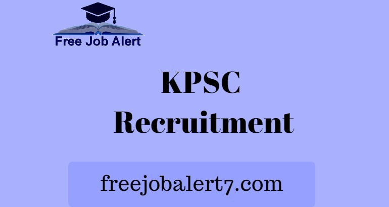 KPSC FDA SDA Recruitment 2019, Apply for 1, 2 Division Assistant Jobs 2019