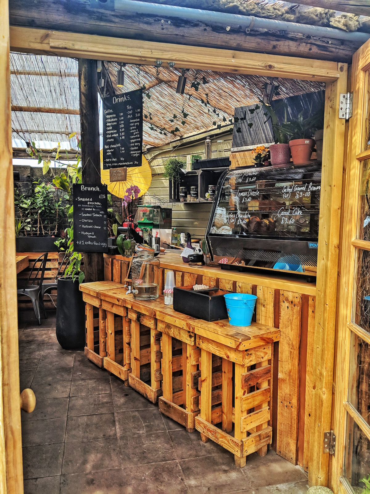 Boma Garden centre's Arbour Cafe