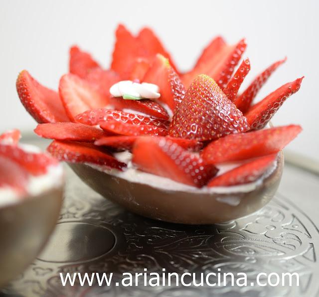Blog di cucina di Aria: Uova di cioccolato ripiene di ...