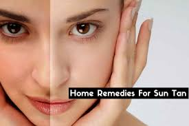 How To Get Rid Of sun Tan with Natural Home Remedies