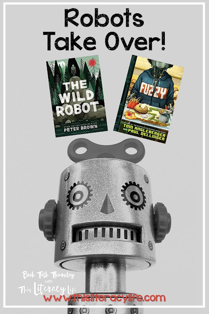 Two books on the Virginia Readers' Choice lists are similar. These robot stories will have us all thinking about what life is like for those who are different from each of us.