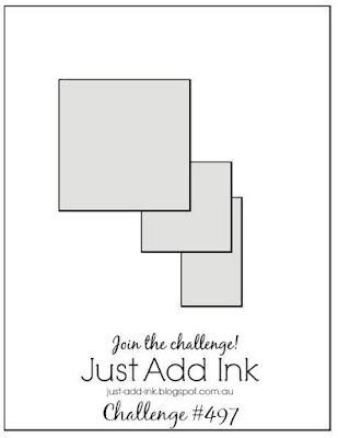 Jo's Stamping Spot - Just Add Ink Challenge #497
