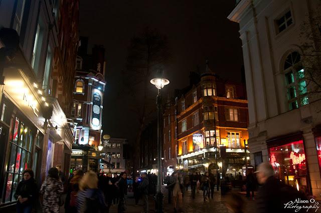 citytrip Londres London Covent Garden