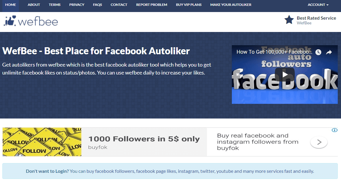 Free Facebook Followers