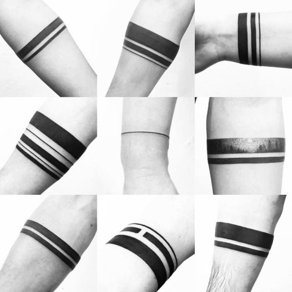 Dame Más Tinta Que Quiero Morir Bandas Negras Black Band Tattoo