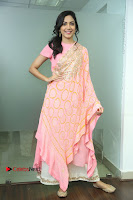 Actress Ritu Varma Pos in Beautiful Pink Anarkali Dress at at Keshava Movie Interview .COM 0167.JPG