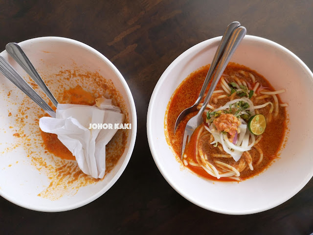 7 Kauthar Cafe in Setia Tropika. One of JB's Best Laksa Johor