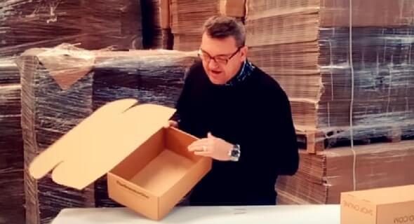 cajas para correos