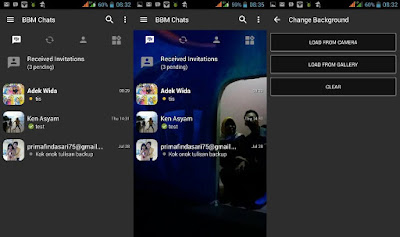 BBM Full Mod Android Apk v3.0.0.18 + Ganti Background dan Warna Sendiri