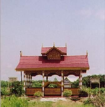 Gambar Kompleks makam SUltan Mahmud Syah di Riau Indonesia