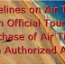 Guidelines on Air Travel on Official Tours- Purchase of Air Ticket from Authorized Agent- KVS