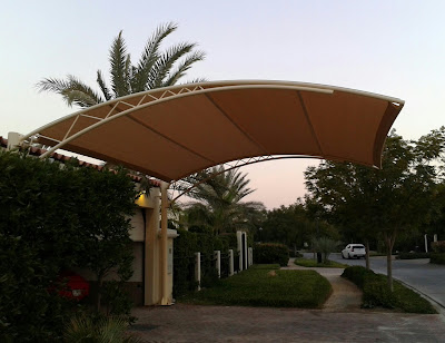Car Park Shades in Ajman.