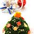 Cách làm cây thông Noel từ bông cải xanh đầy dễ thương