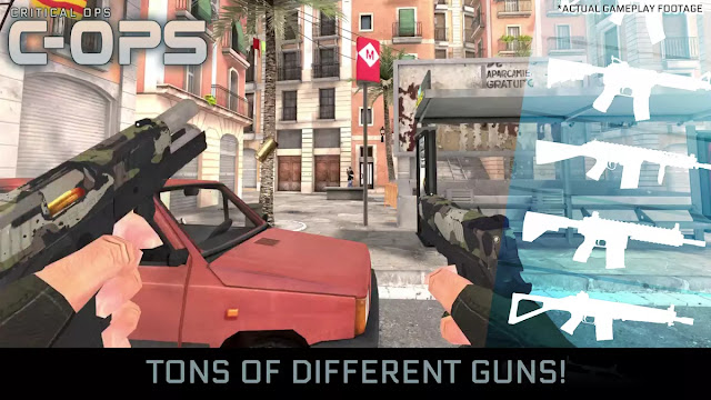 Critical Ops Hack Apk
