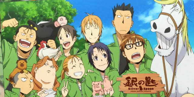 Bohaterowie anime Silver Spoon