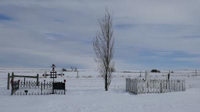 Irvine, Alberta, Cypress Hills, Elkwater, Newburg, cemetery