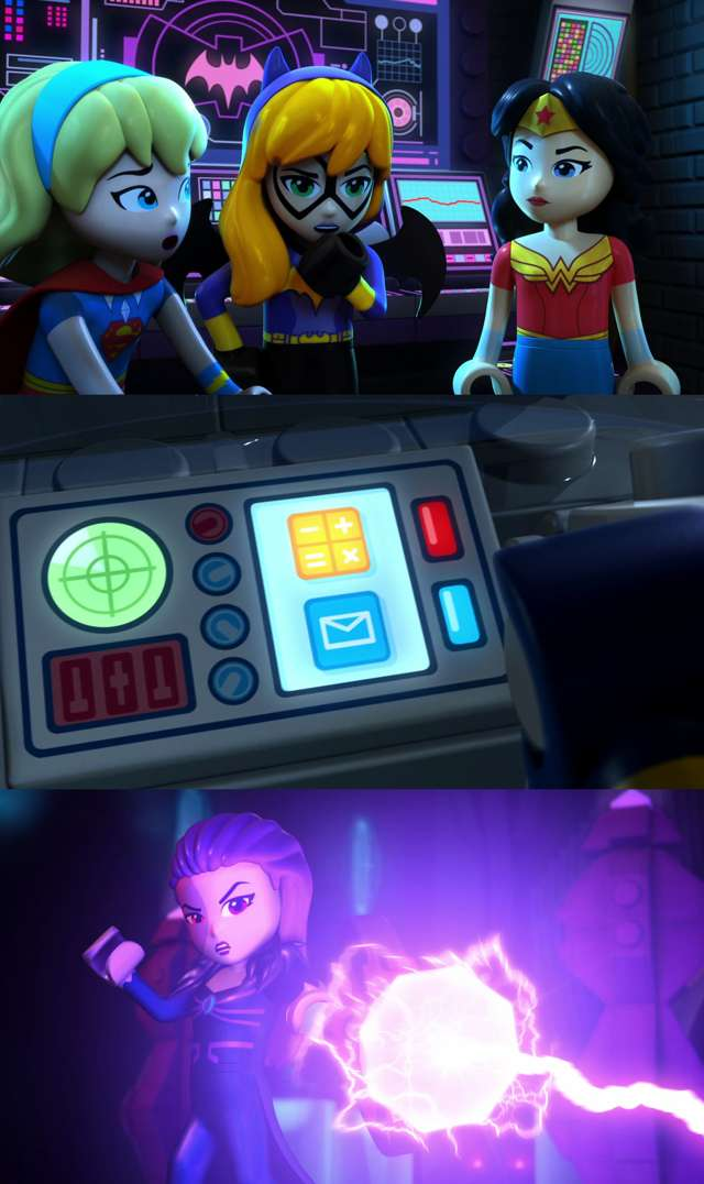Lego DC Super Hero Girls: Trampa Mental (2017) HD 1080p y 720p Latino