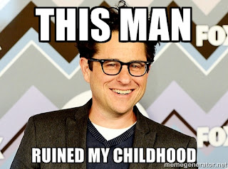 J.J. Abrams ruined my childhood
